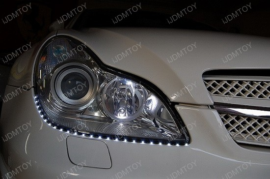 Audi - style - side - shine - flexible - LED - strip - lights - 4